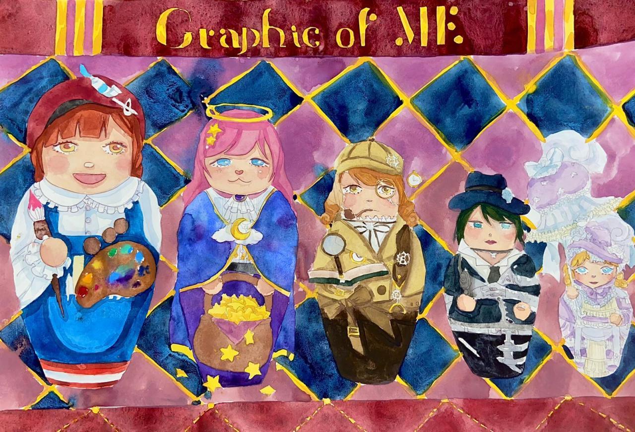 陳卓盈  主題:graphics of me